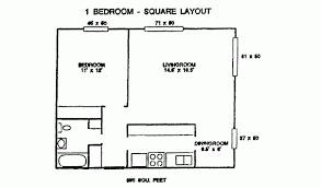 Parkview Floor Plan 725 W Washington Ave Parkview Apts 725 W Washington Ave