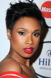spick hair sytle for black women super short spiky formal hairstyles for african american women