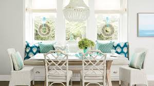 aqua dining room 50 ways to decorate with turquoise coastal living