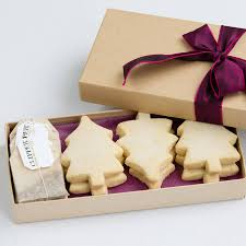 mulled wine shortbread and christmas tea gift box by shortbread