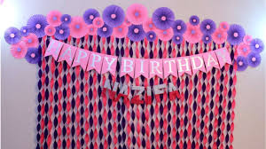 How To Decorate Birthday Party At Home by Birthday Decoration Ideas At Home Decorations For Baby Shower
