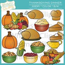 Thanksgiving Feast Clip Thanksgiving Food Clipart 82582