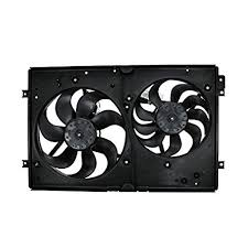2007 jetta 2 5 radiator fan amazon com hex autoparts dual radiator fans motors for
