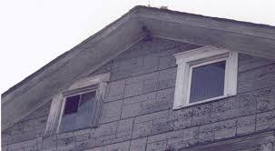 attic windows on somerset county korns family house