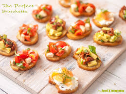 how to make the perfect bruschetta topping ideas my food