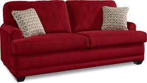 lazy boy maverick sofa la z boy red leather sofa leather sofa