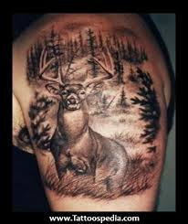 deer tattoos for couples