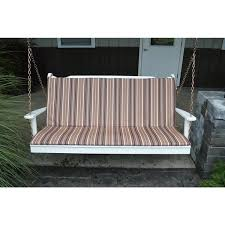 a u0026l furniture co 5 u0027 porch swing glider and bench accessories