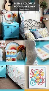 a colorful bedroom update featuring novogratz 9 best of decor