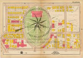 Boston Ma Map by Antique Atlas Map Print South Boston Massachusetts 1919