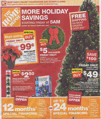 when is it black friday at home depot home depot black friday 2011 ad scan