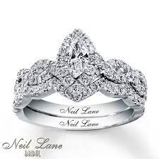 neil bridal set neil bridal set 1 1 8 ct tw diamonds 14k white gold