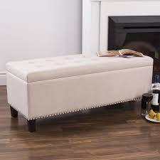 Upholstered Storage Bench Jacobs Saffron Yellow Upholstered Storage Bench Buy Now At And