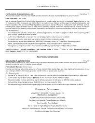 Resume Samples For International Jobs by Mesmerizing Sample Resume For Senior Manager Transportation