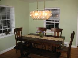 chandelier dining room table chandelier dining table lamp