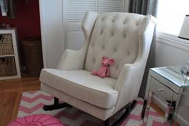 Nursery Rocking Chair Uk Chairs Noticeable White Swing Chair Chairs Office