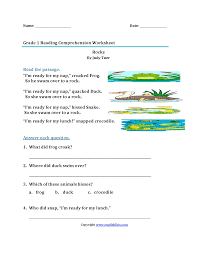 Mcgraw Hill Worksheet Answers Worksheet Collection Of Free Printable Reading Comprehension