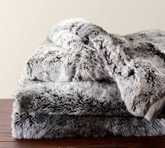Faux Fox Fur Throw Faux Sheepskin Throw Chasing Luxury In Fashionable Look Homesfeed
