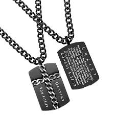 man necklace chain images Man of god cross chain necklace black armour in truth jpg