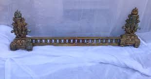 stunning antique french louis xvi brass bronze fireplace