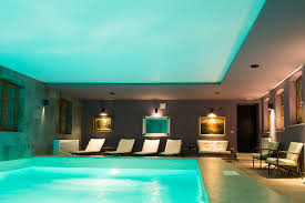 swimming pool room spa relax zone and swimming pool vela vrata hotel