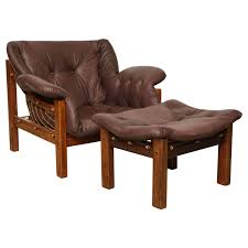 Armchairs Nz Jean Gillon Chair And Ottoman For Sale At 1stdibs