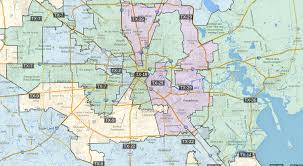 houston map districts congressional districts in houston 1305 x 715 mapporn