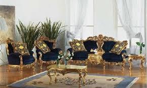 Black And Gold Living Room Furniture Royal Blue Sofa Living Rooms Gold Living