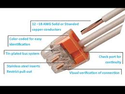 ideal in sure push in wire connectors youtube
