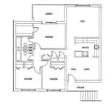 home floor plans with basement home design 79 marvelous 3 bedroom house floor planss
