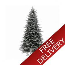 everlands frosted vermont 7ft artificial christmas tree