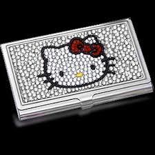 Bling Business Card Holder Hello Kitty Business Card Holder 10 Cutest Hello Kitty Goodies U2026