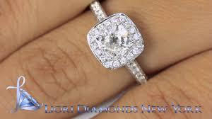 Vintage Style Cushion Cut Engagement Rings Er Sold 167 1 33 Carat D Vs2 Cushion Cut Diamond Engagement Ring