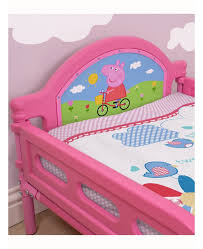 Peppa Pig Toddler Bed Set Peppa Pig Toddler Bed By Hellohome Dstansfield Co Uk