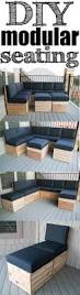 Outdoor Lifestyle Patio Furniture by Diy Modular Sectional Corner Piece Plans Spaces Free And Pallets