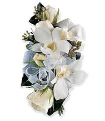 Orchid Corsage White Rose U0026 Orchid Corsage Helloguan Florist Delivering Near