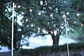 Globe Patio String Lights by String Lights Uk Outdoor Hanging Lighting In Black Lamp Case For