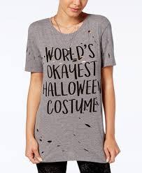 mighty fine juniors u0027 halloween costume graphic t shirt juniors