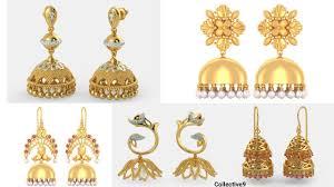 gold jhumka earrings design gold jhumka earrings designs with shop address