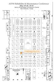 san antonio convention center floor plan reliability maintenance conference and exhibition