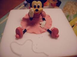 19 Best Minnie Topper Images On Pinterest Diy Fondant Figures