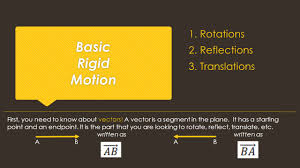 Reflections And Rotations Worksheet 1 4 Monday Intro To Rotations Reflections Translations Ppt 1