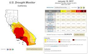 california map drought officials more than 40 percent of california out of drought