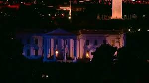 lights white house blue to honor fallen something