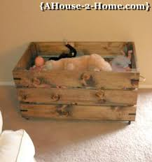 Wooden Toy Box Plans by Ana White Wood Toy Box Diy Projects