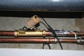 fitting a pump under a bath shower power booster