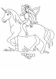 coloring pages of unicorns and fairies fairy and unicorn coloring pages gidiye redformapolitica co
