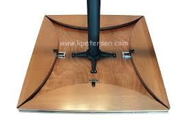 Square Drop Leaf Table Wood Veneer Drop Leaf Restaurant Tables