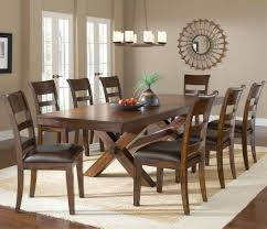 solid cherry dining room set excellent image of dining room decoration using distressed wood