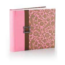 pink photo album vintage pink and brown floral photo album photo albums hallmark